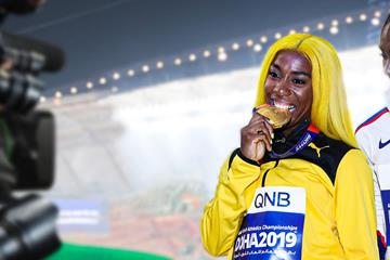 Shelly-Ann Fraser-Pryce zoom (Getty Images)