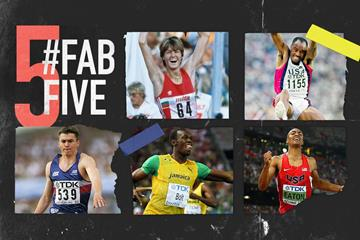 Fab five: world record-breakers at the World Championships (Getty Images)