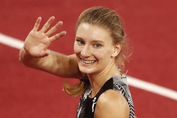 Swiss sprinter Ajla del Ponte (Getty Images)