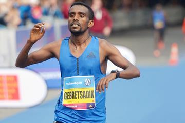 Ethiopian marathon runner Gebretsadik Abraha (AFP / Getty Images)
