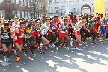 The start of the men's race at the IAAF World Half Marathon Championships Copenhagen 2014 (AFP / Getty Images)