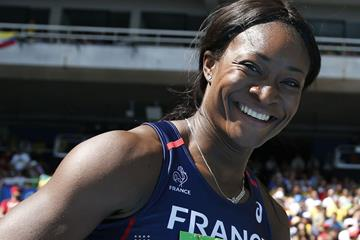 French heptathlete Antoinette Nana Djimou (AFP/Getty Images)