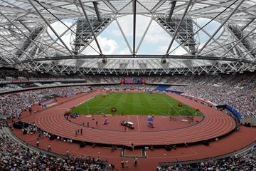 The Stadium, 2016 IAAF Diamond League in London (Kirby Lee)