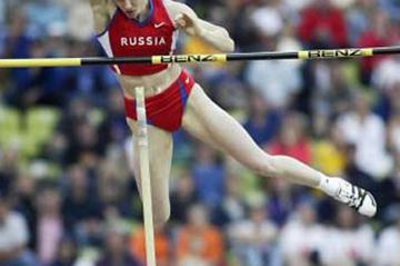 Svetlana Feofanova jumps to gold in Munich (Getty Images)
