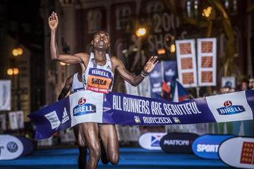 Sheila Chepkirui breaks 30 minutes at the Birell Prague 10k (Organisers)