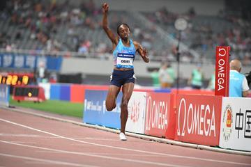 Hellen Obiri dominates the Shanghai 5000m (Errol Anderson/Jiro Mochizuki)