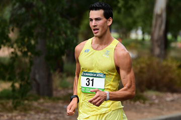 Swedish race walker Perseus Karlstrom (Getty Images)