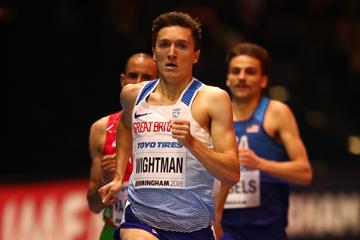 Jake Wightman in the Birmingham 1500m heats (Getty Images)