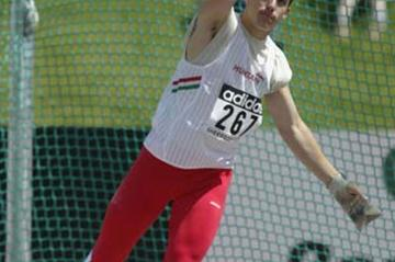 Sandor Palhegyi of Hungary is the youngest male competitor of the championships (Getty Images)