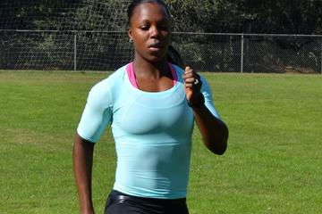 Veronica Campbell-Brown in training (Omar Brown)