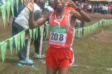 Francis Komu wins the Nyeri Half Marathon (Omulo Okoth)