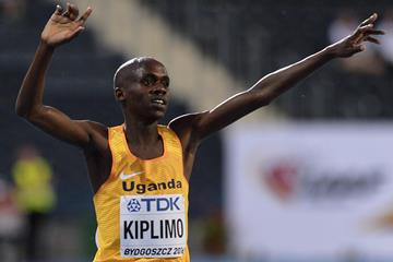 Jacob Kiplimo after the 10,000m at the IAAF World U20 Championships Bydgoszcz 2016 (Getty Images)