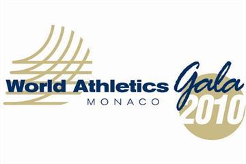 2010 World Athletics Gala Logo (IAAF.org)