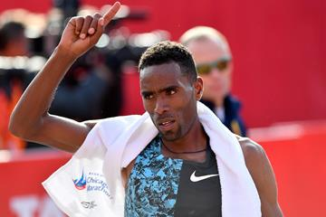 Ethiopian marathon runner Dejene Debela (Getty Images)