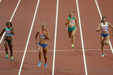 Dafne Schippers in the 200m heats at the IAAF World Championships London 2017 (Getty Images)