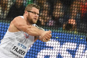 Pawel Fajdek in the qualifying round at the IAAF World Championships London 2017 (AFP/Getty Images)