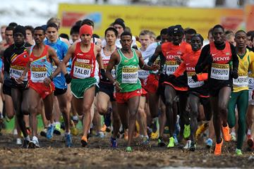 Runners at the IAAF World Cross Country Championships (Getty Images)