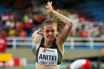 Georgiana Iuliana Anitei at the IAAF World Youth Championships, Cali 2015 (Getty Images)