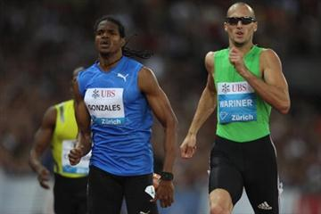 Jeremy Wariner world lead in 400m in Zurich - Samsung Diamond League (Getty Images)