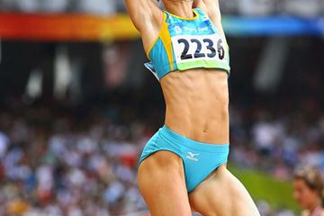 Olga Rypakova in Beijing (Getty Images)