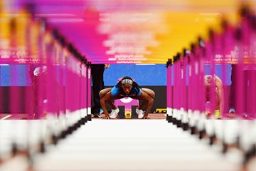Kendra Harrison at the 2017 World Championships (Getty Images)