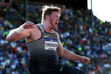 Ryan Crouser wins the shot put at the US Olympic Trials (Getty Images)