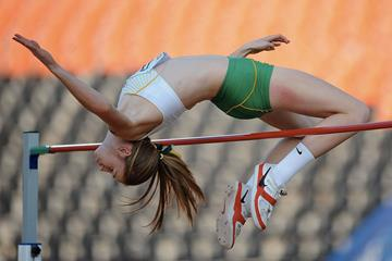 Eleanor Patterson in the girls High Jump at the IAAF World Youth Championships 2013 (Getty Images)