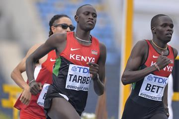 Willy Tarbei in action at the IAAF World U20 Championships Bydgoszcz 2016 (Getty Images)
