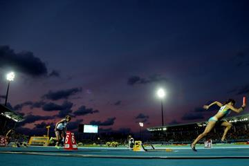 The women's 4x100m at the IAAF/BTC World Relays, Bahamas 2015 (Getty Images)