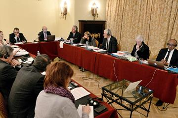 Members of the Interim Coordination Committee of the Olympic Committee of Russia and the IAAF Taskforce (IAAF)