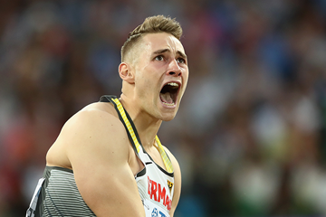German javelin thrower Johannes Vetter (Getty Images)