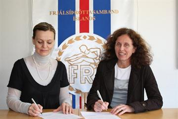 Signing of coaches education agreement between ISL and Reykjavik University (IAAF)