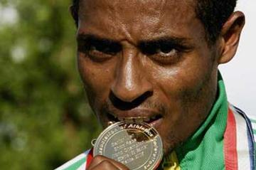 Kenenisa Bekele tasting perhaps his most unexpected gold (Getty Images)