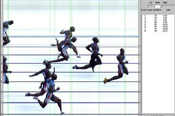 Photo Finish picture Montgomery World Record (Seiko)