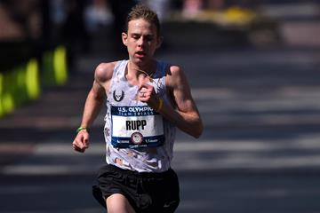 Galen Rupp in action in the marathon (Getty Images)