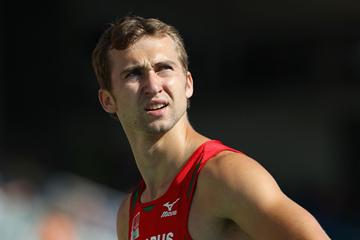 Andrei Krauchanka of Belarus in the Decathlon (Getty Images)