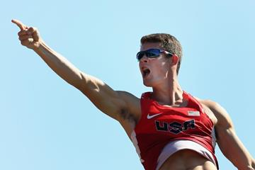 US pole vaulter Devin King at the IAAF World Junior Championships, Oregon 2014 (Getty Images)