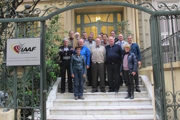 The IAAF Technical Committee during its 2015 annual meeting (IAAF)