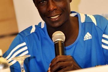 Luke Kibet in Singapore (Singapore Marathon organisers)