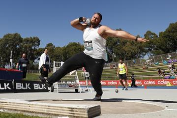Tom Walsh at the Australian Championships in Sydney (Getty Images)
