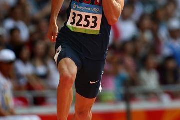 Jeremy Wariner cruising to a first round victory (Bongarts/Getty Images)