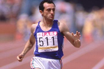 Pietro Mennea at the 1984 Olympic Games (Getty Images)