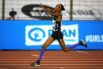 Sifan Hassan sets a world record in the one-hour race at the Diamond League meeting in Brussels (Getty Images)