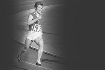 Soviet sprinter Mariya Itkina (Asahi Shinbun)