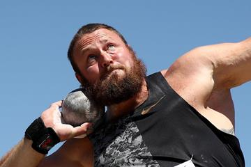 New Zealand's Tom Walsh in action in the shot put (Getty Images)