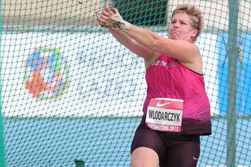 Anita Wlodarcyzk at the Rieti 2013 IAAF World Challenge meeting (Giancarlo Colombo)