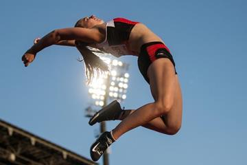 Angelica Moser in the pole vault at the IAAF World U20 Championships Bydgoszcz 2016 (Getty Images)