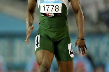 James Godday of Nigeria (Getty Images)
