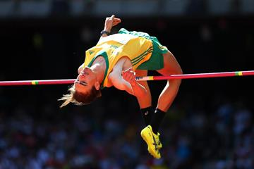 Brandon Starc in the high jump at the IAAF World Championships Beijing 2015 (Getty Images)