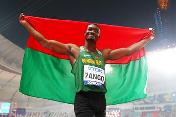 Triple jumper Hugues Fabrice Zango from Burkina Faso (Getty Images)